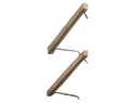 2&#34x4&#34pressure treated wood louver arm with 304ss rod assembly 49&#34